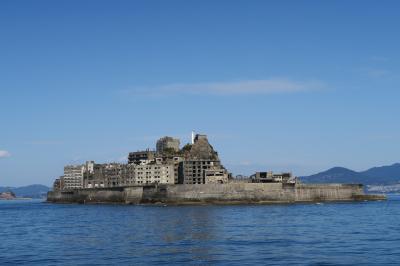 お仕事のついでに軍艦島を見てきました