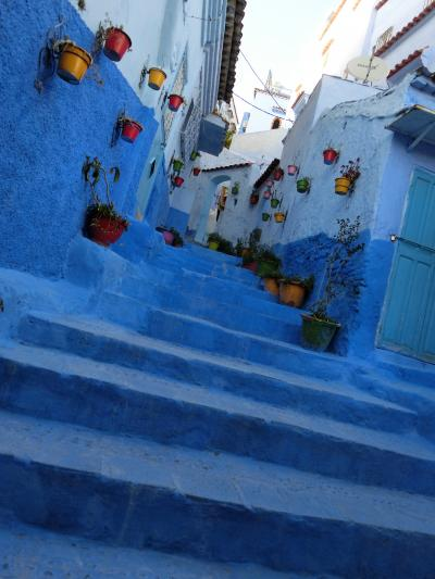 モロッコ添乗員付ツアー⑤ 空色の街 シャウエンはフォトジェニック