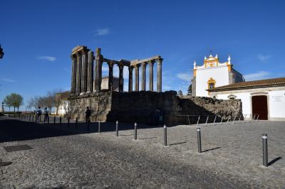 ユーラシア大陸最西端の国ポルトガルと初めに少し2回目のスペイン1人旅 その11:エヴォラ編 天正遣欧少年使節も訪れた,ローマ時代からのアレンテージョ地方中心の町