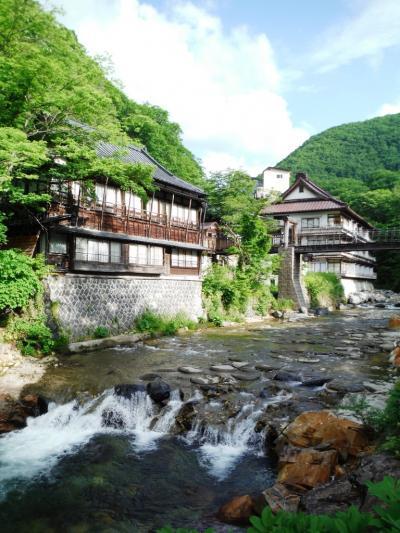宝川温泉_Takaragawa Onsen  巨大露天風呂!山あいの一軒宿ながらその知名度は世界に轟く温泉