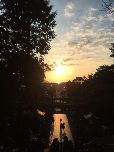 【福岡】「夕陽の祭り」が終わった後の宮地嶽神社へ行ってみた