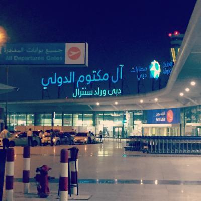子連れアラブ旅行記 ドバイで年越し3 モール巡りと帰国
