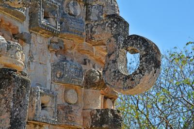 冬のメキシコ旅行(8)-マヤパン遺跡 & カバー遺跡-