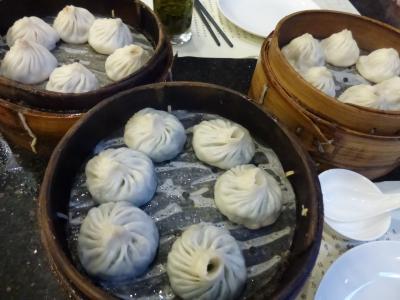 上海ディズニーランド旅行 その3 上海市内食事編
