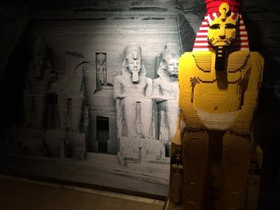 レゴと古代エジプトのコラボレーション