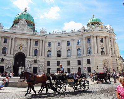 ハンガリーとウィーン列車旅(8)ウィーン到着~旧王宮・シュテファン寺院・街歩き