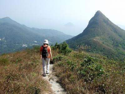 釣魚翁に登り、「龍虎風雲」ロケ地へ(2010年12月)。