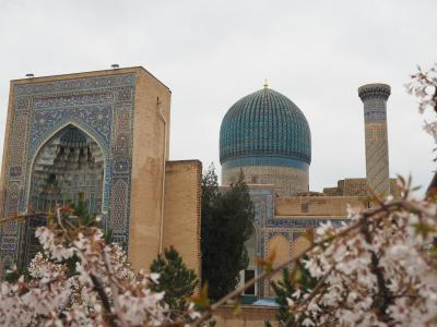初めての中央アジア ウズベキスタン・サマルカンド