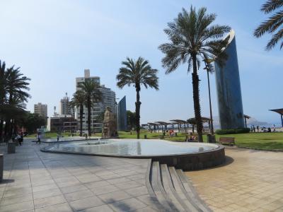 ペルー 「行った所・見た所」 リマ・カーメルホテル宿泊とアモール公園散策