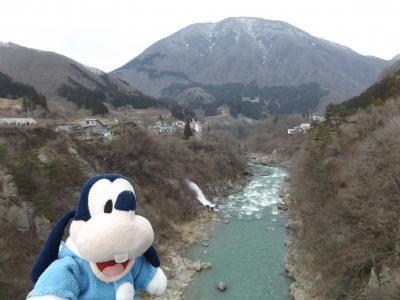 グーちゃん、南会津/湯野上温泉へ行く!(鶴ヶ城を目指してGO!編)