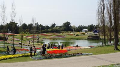 淡路島国営明石海峡公園(1) 淡路口からポプラの丘まで歩く。