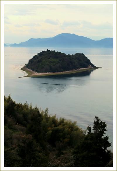 Solitary Journey [1892] 春色の景色をさがして~島の形がハート型に見えるそうですが?<正福寺山公園桜&大芝島一周>広島県安芸津町