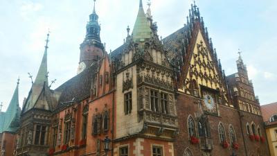ポーランド激動の歴史を経た中世の都市ヴロツワフ周辺