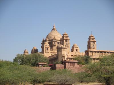 ラージャスターンと北インドの旅 (6)         ジョードプル② ウメイド・バワン宮殿