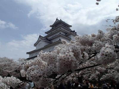 行くならせっかくですから桜の季節に。会津若松 2017春