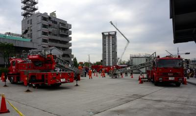 東京消防庁 消防技術安全所 一般公開日。