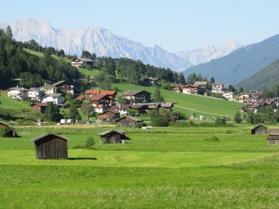 オーストリア チロル州 シュトゥバイタールの旅 ノイシュティフト村歩き  2017年【7】