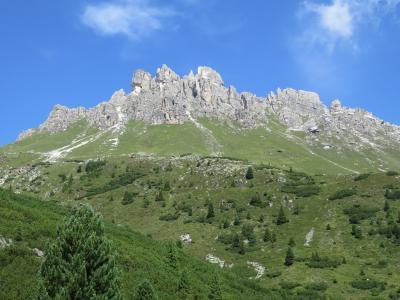 オーストリア チロル州 シュトゥバイタールの旅エルファーでハイキングその2 Panoramaweg  karalm~Elferhutte 2017年8月【10】