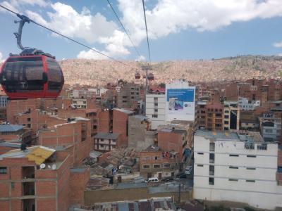6年ぶりのボリビア、ラパス