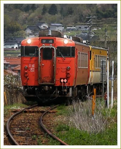Solitary Journey [1898] 春の景色をさがしながら線路沿いをドライブ&古い町並み&音戸の躑躅<芸備線志和地駅まで>広島県安芸高田市