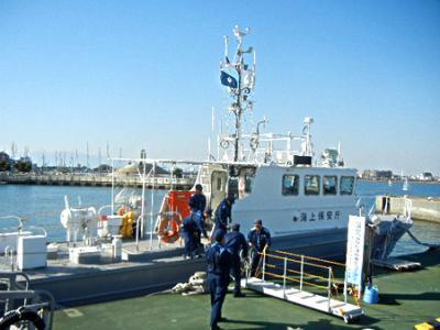 江ノ島ハーバーフェスティバル2012  #2「海猿の巡視艇にのろう」
