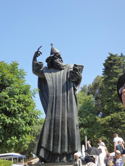 ローマ時代に「ダイキン」があった?~16年夏クロアチアなど4カ国周遊8月9日その1スプリット