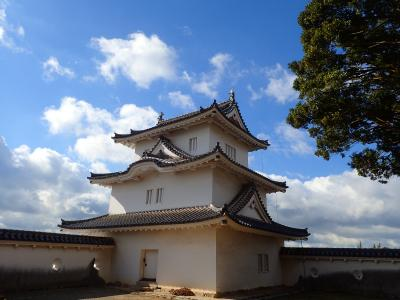 明石城ちょこっと旅 日本100名城巡りの巻