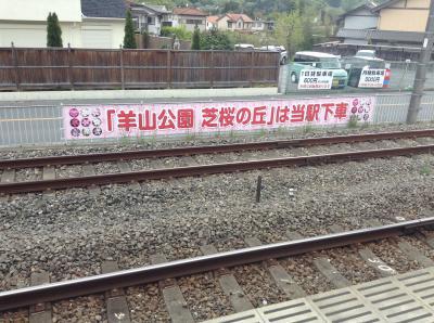 芝桜の丘~西武横瀬駅から羊山公園へ。~