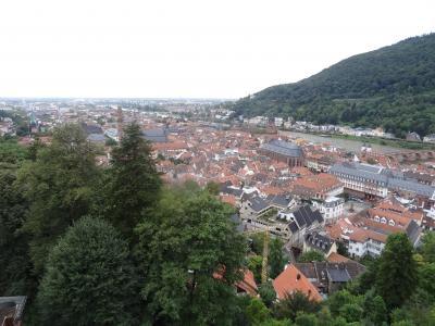 Day5.ドイツ(ハイデルベルク、ビュルツブルグ、ニュルンベルク)編:デンマーク、スイス、ドイツ