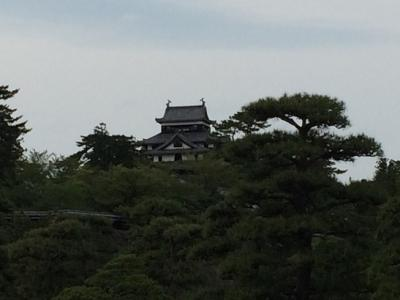 松江城まで1時間の散歩