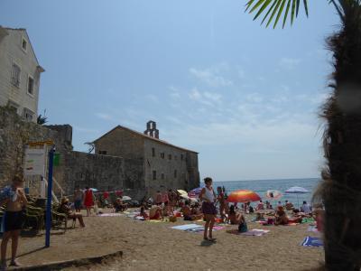 ブラピ&アンジーも泊まった?小さなリゾート~16年夏モンテネグロなど4カ国周遊8月11日その3ブドバ
