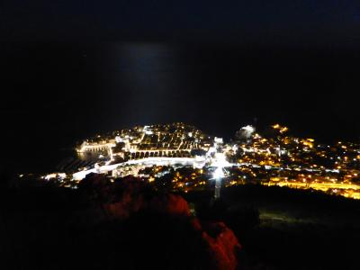 夜のスルジ山も最高!だけど大混雑(>_<)~16年夏クロアチアなど4カ国周遊8月12日その5ドブロブニク