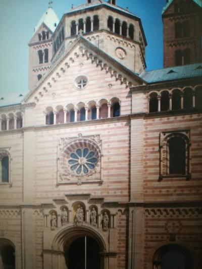 シュパイアー大聖堂と三位一体教会