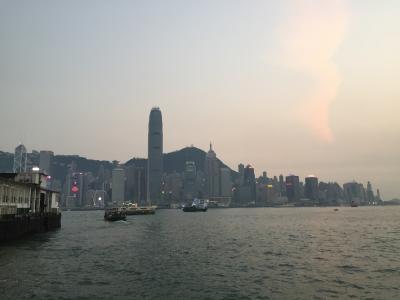 2017GW 【1日目・関空~香港】LCCで行く  2歳児と旅行  香港・ニャチャン