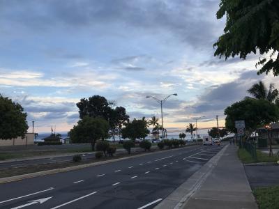 2017 やって来ましたマウイ島 大雨のマウイは寒かった。