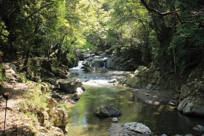 清流と新緑を満喫!春の摂津峡ハイキング