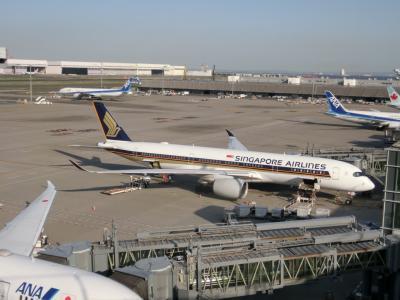 ANAハローツアーで行く!3度目のシドニー旅行 Part3 国際線ターミナルへ移動&A350を見てみよう編
