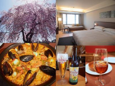 桜咲く軽井沢旅 軽井沢マリオットホテル スーペリアキング スペイン料理エステーリャ パディーズカフェでランチ 最後はショッピングを楽しむ旅