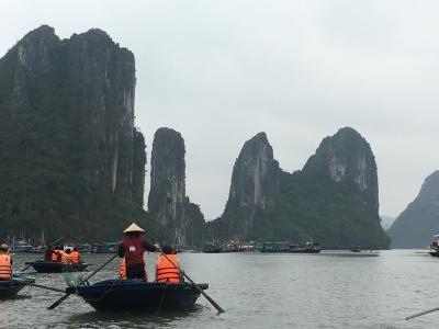 '17GW  2回目のベトナム(1、2日目) 香港トランジット&ハロン湾