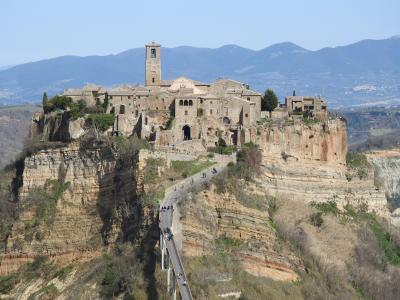 怖くて行かなかったイタリアの北部へ 山の中をぬって、ついにはローマへ
