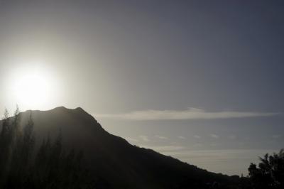 ホノルル1泊観光(ダイヤモンド・ヘッド、カピオラニ公園、ワイキキ水族館)