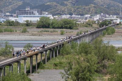 蓬莱橋と七福神巡り
