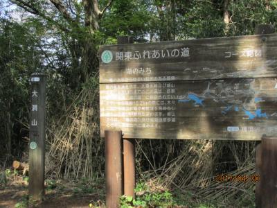 二週連続の南高尾20キロ(3)大洞山534m通過。