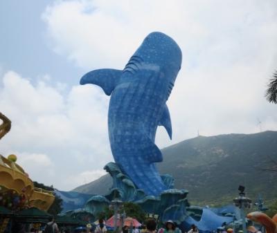 娘と香港・深セン・マカオ・珠海へ:珠海は水族館