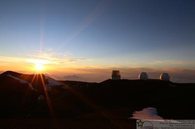 ハワイ8 マウナケア山頂 夕日と星空観測 by MASASHI nature school