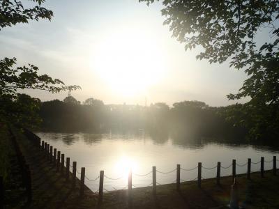 GWは早朝散歩 @ 健康福祉村 (2017.05.03~05)