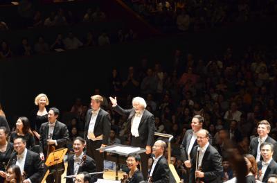 半年ぶりのシンガポール: 鈴木雅明指揮シンガポール響でモーツァルトのレクイエム、交響曲第40番を聴く