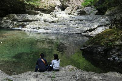 旅するイルカ♪ 奈良県 みたらい渓谷へ