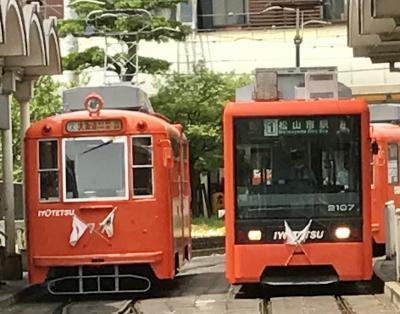 ゴールデンウィーク遠征パート1:電車でGO!20周年ツアー伊予鉄道編