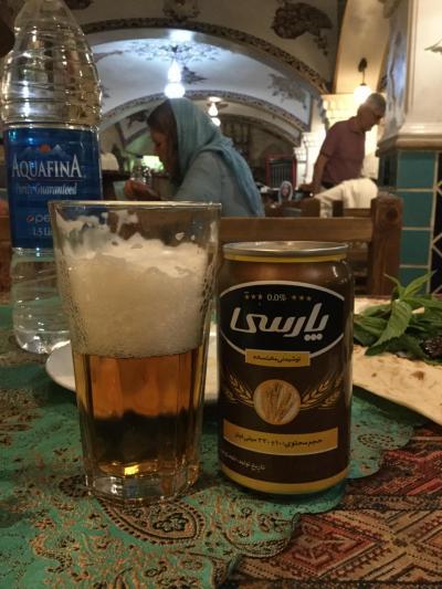 初めてのイランで、おいしいビールを飲みたい旅~シーラーズでぷっは~編